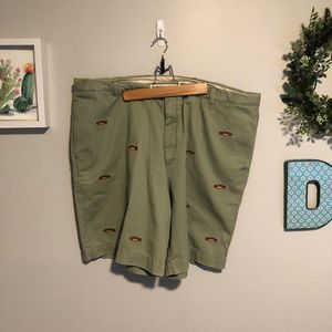 Orvis Charleston Embroidered Fish Short